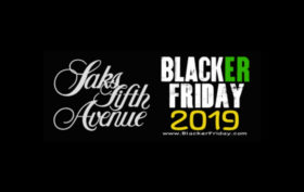 Saks Fifth Avenue Blacker Friday