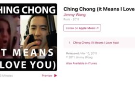 "Jimmy Wong ""Ching Chong"""