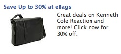 eBags retargeting ad