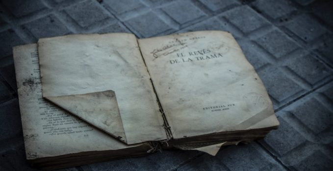 dried up book