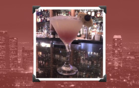 Daywalker Lemonade Martini at the Marmalade Cafe