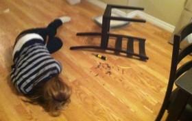 Assembling An IKEA Chair