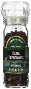 Trader Joe's Peppercorns With Grinder
