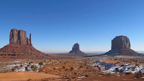 Desert in Winter