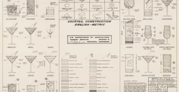 US Forest Service Cocktail Construction Chart