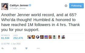 Caitlyn Jenner Humble Brag
