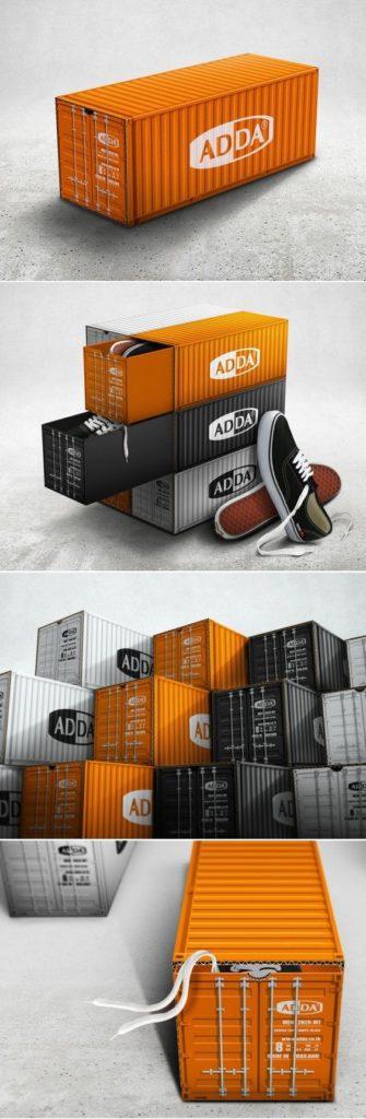 Adda Shoe Box