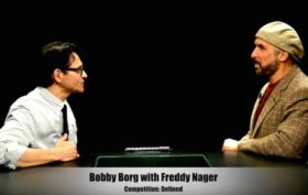 Bobby Borg with Freddy Nager
